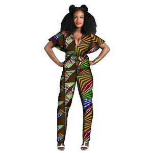 Tenue Africaine Wax Fleurie - Robe-africaine.com - 3 / M