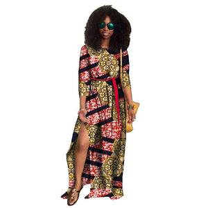 Robe Africaine avec Fente - Robe-africaine.com - [variant_title]