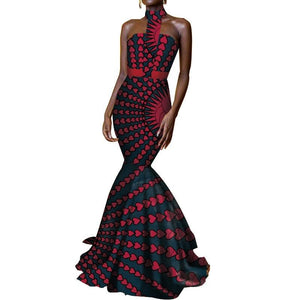 Robe Wax Sirene - Robe-africaine.com - [variant_title]
