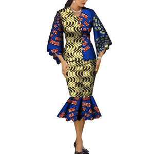 Robe Wax Grande Taille - Robe-africaine.com - 12 / M