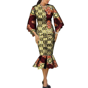 Robe Wax Grande Taille - Robe-africaine.com - 5 / M