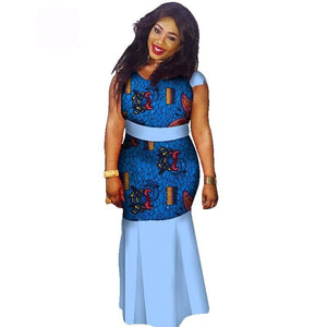 Boubou Africain Femme Grande Taille - Robe-africaine.com - 17 / M
