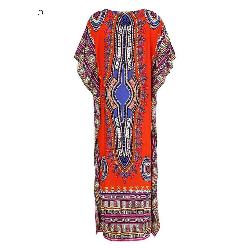 Robe Africaine Boubou - Robe-africaine.com - Red / M