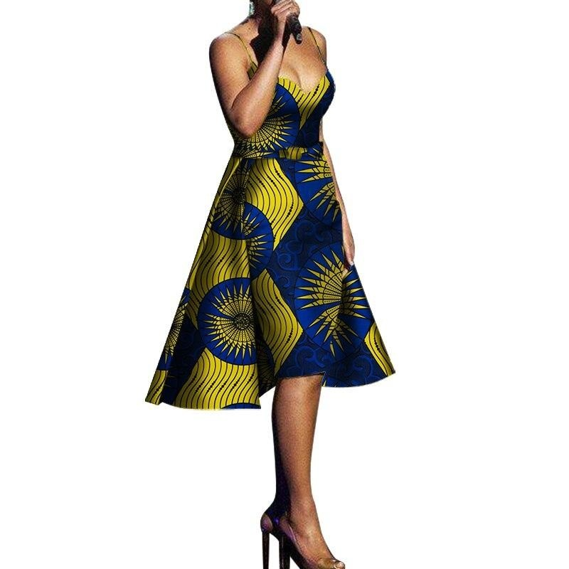 Robe Wax Bazin Napoléon - Robe-africaine.com - [variant_title]