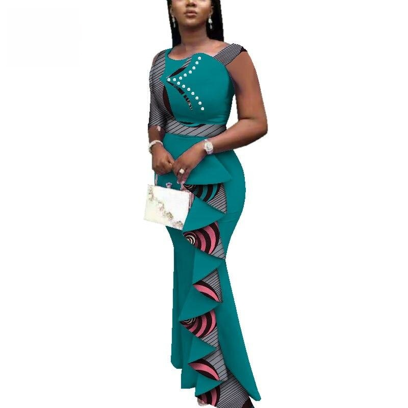 Robe Wax Classe - Robe-africaine.com - Silver / M