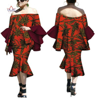 Robe Wax Deux tons - Robe-africaine.com - 8 / M