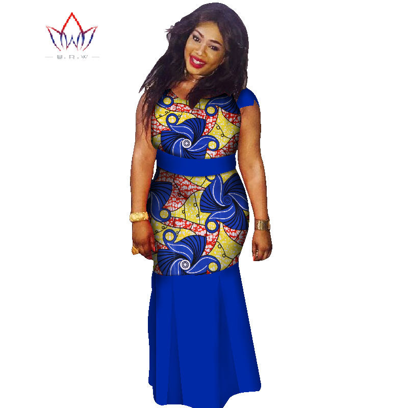 Boubou Africain Femme Grande Taille - Robe-africaine.com - 10 / M