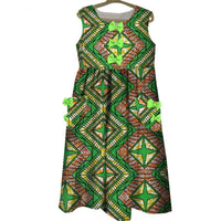 Robe Wax Beauté Infini - Robe-africaine.com - 4 / XS