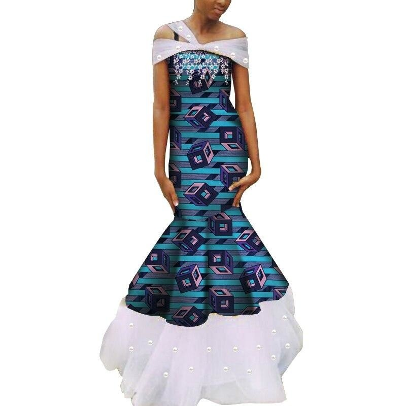 Robe Wax - Traine de Dentelle - Robe-africaine.com - 15 / M