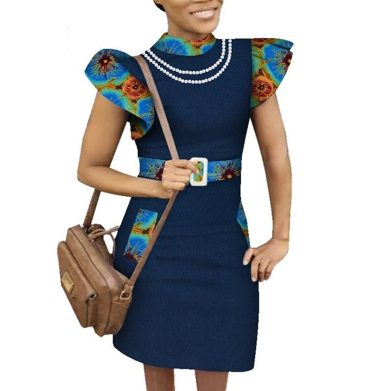 Robe Africaine Noire - Robe-africaine.com - 3 / M
