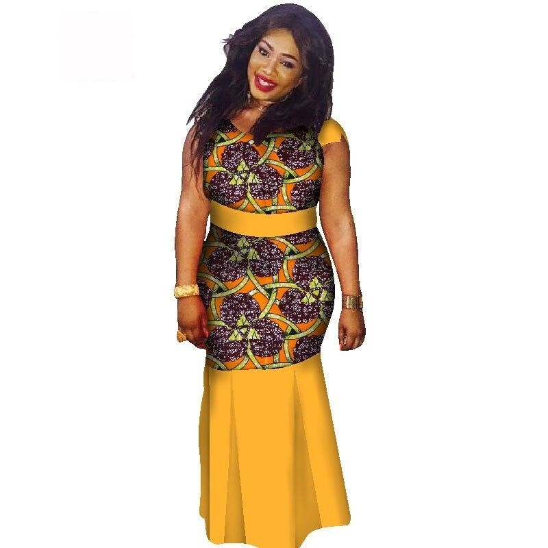 Boubou Africain Femme Grande Taille - Robe-africaine.com - 16 / M