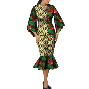 Robe Wax Grande Taille - Robe-africaine.com - 6 / M
