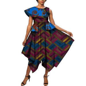 Robe Jupe Wax - Robe-africaine.com - [variant_title]