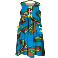 Robe Wax Beauté Infini - Robe-africaine.com - 1 / XS
