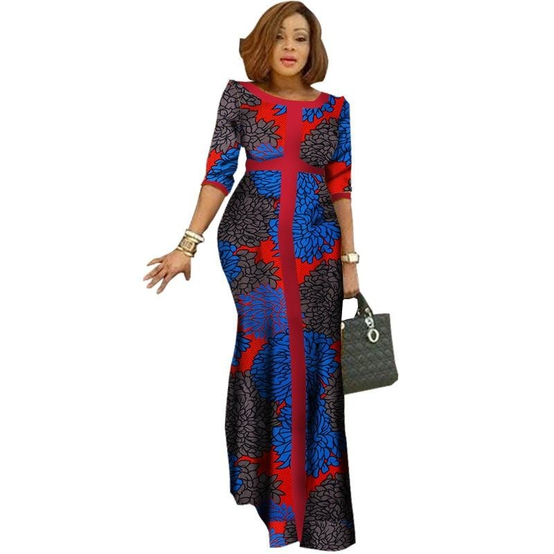 Robe Wax Femme Moderne - Robe-africaine.com - [variant_title]