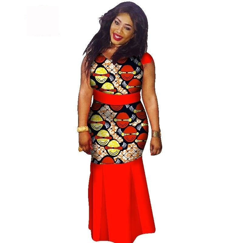 Boubou Africain Femme Grande Taille - Robe-africaine.com - 1 / M
