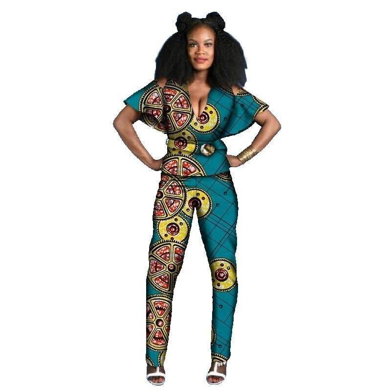 Tenue Africaine Wax Fleurie - Robe-africaine.com - 8 / M