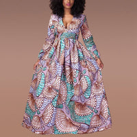 Robe Africaine Moderne Longue