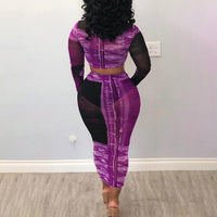 Tenue Africaine Unicolore en deux temps - Robe-africaine.com - [variant_title]
