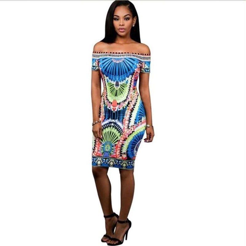 Robe Africaine Droite - Robe-africaine.com - [variant_title]