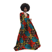 Robe Wax Décolleté - Robe-africaine.com - [variant_title]