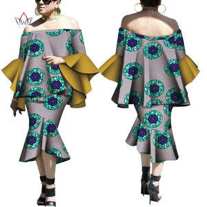 Robe Wax Deux tons - Robe-africaine.com - [variant_title]