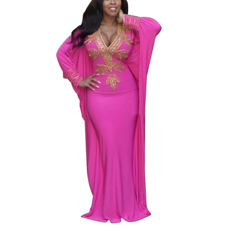 Robe Wax Rose - Robe-africaine.com - [variant_title]