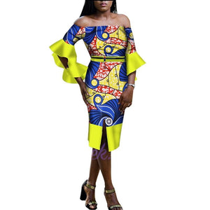 Robe Wax Courte - Robe-africaine.com - [variant_title]
