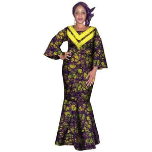 Pagne Africain Pois - Robe-africaine.com - 22 / M