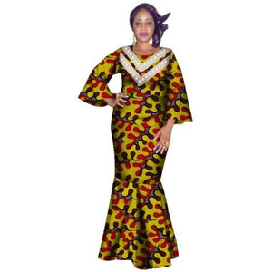 Pagne Africain Algue - Robe-africaine.com - 21 / M