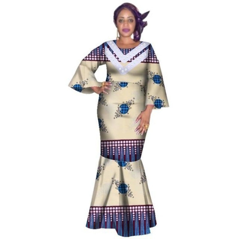 Pagne Blanc - Robe-africaine.com - 13 / XL