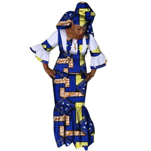 Pagne Bleu - Robe-africaine.com - [variant_title]