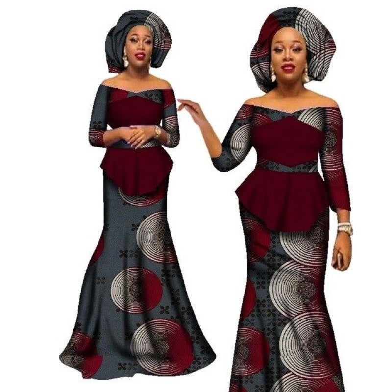 Pagne Africain de Mariage – Robe-Africaine.