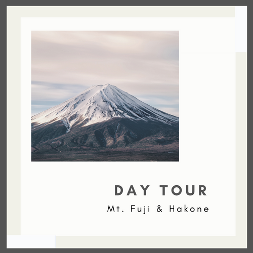 1-Day Mt. Fuji & Hakone Tour (Return by Motorcoach) (With Lunch)