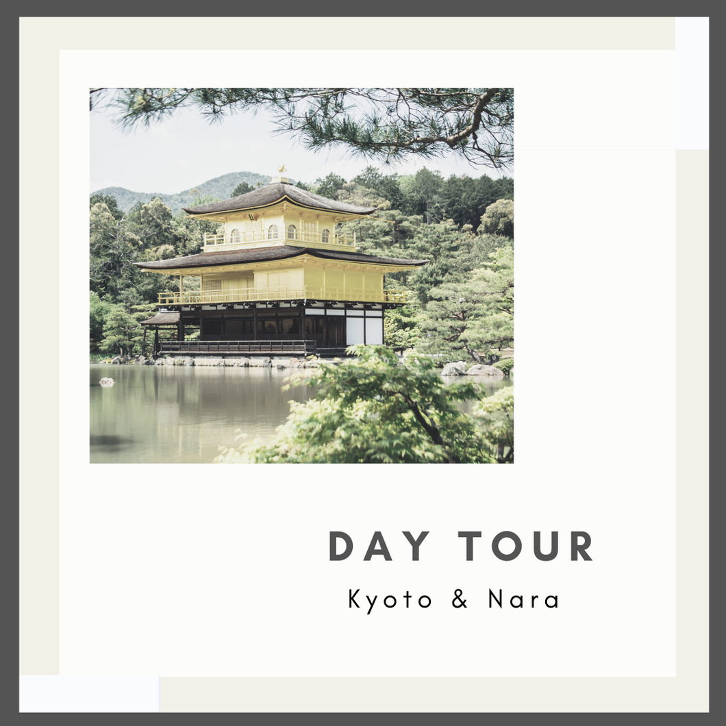 Kyoto & Nara 1-Day Tour (With Lunch)