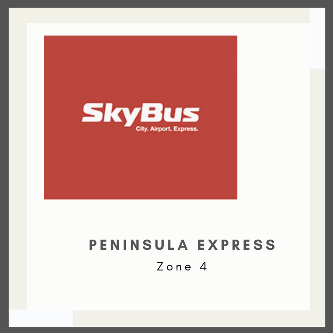 SkyBus - Peninsula Express - Zone 4