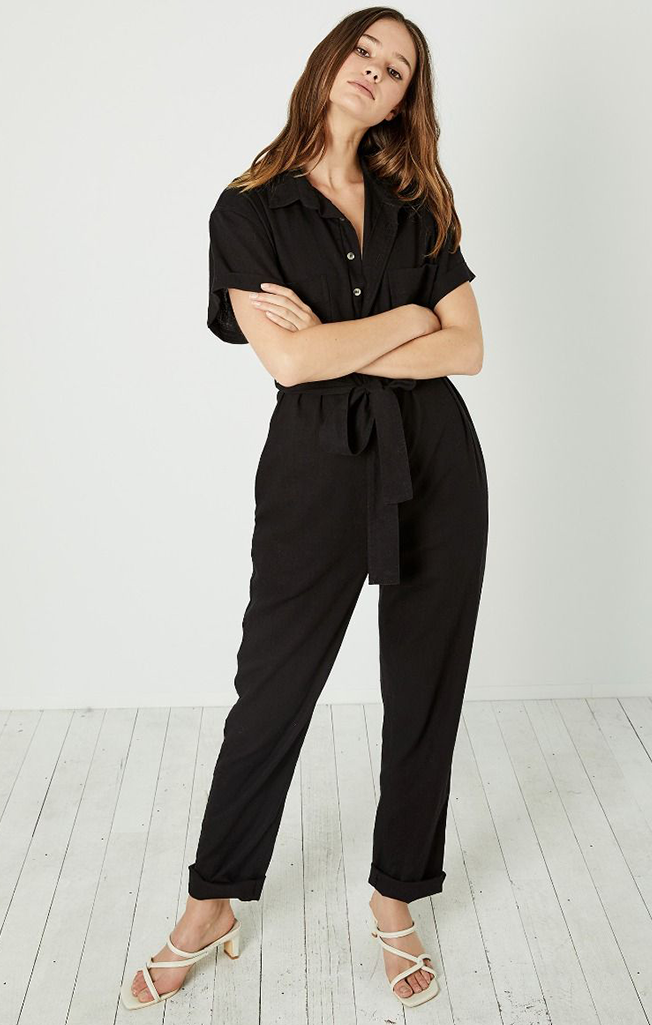Horizon Boiler Suit Black