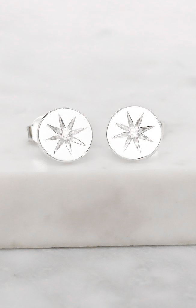 Enchanted Light Crystal Stud