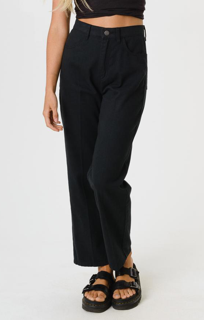 Shelby Wide Leg Jeans Black