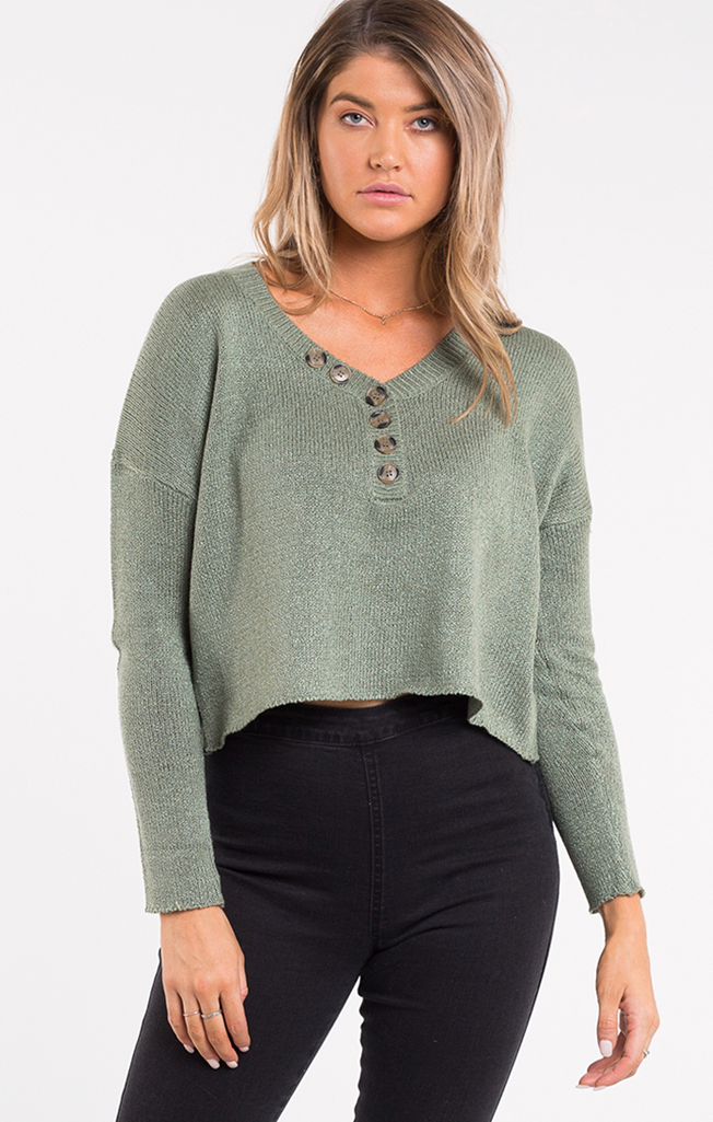 Liana Button Up Knit
