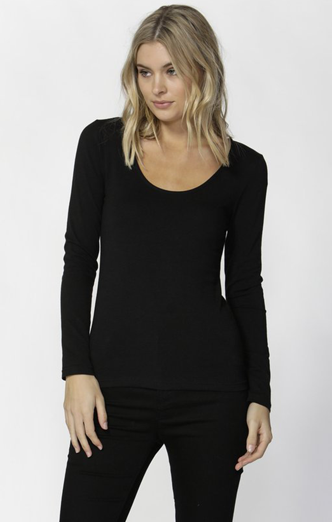Madonna Scoop Top