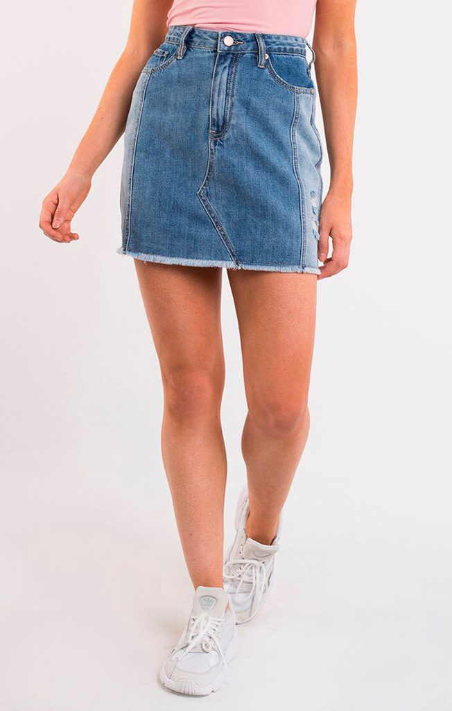 Upcycle Denim Skirt