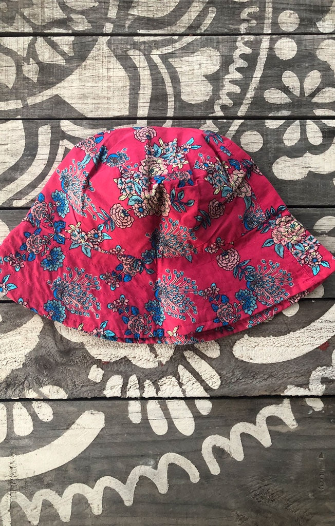 Bucket Hat Cherry Floral
