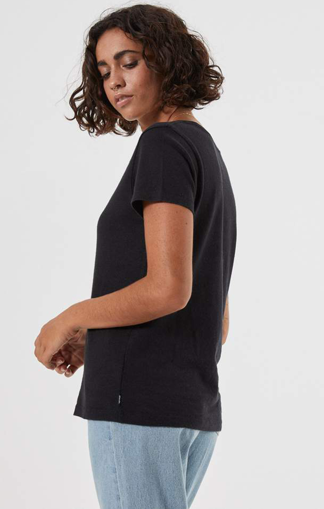 Hemp Standard Fit Tee Black