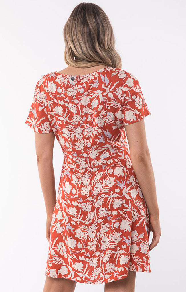 Floral Fields Fit & Flare Dress