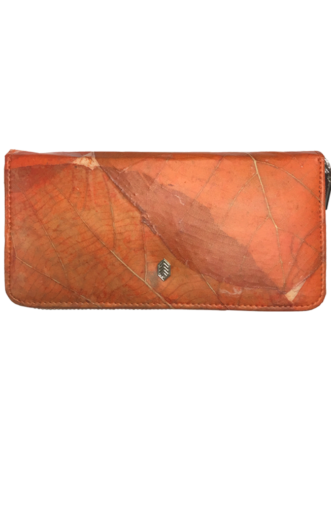 Leaf Zip Wallet