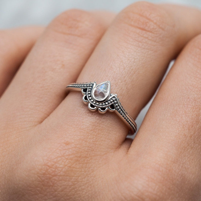 Ataraxia Moonstone Ring