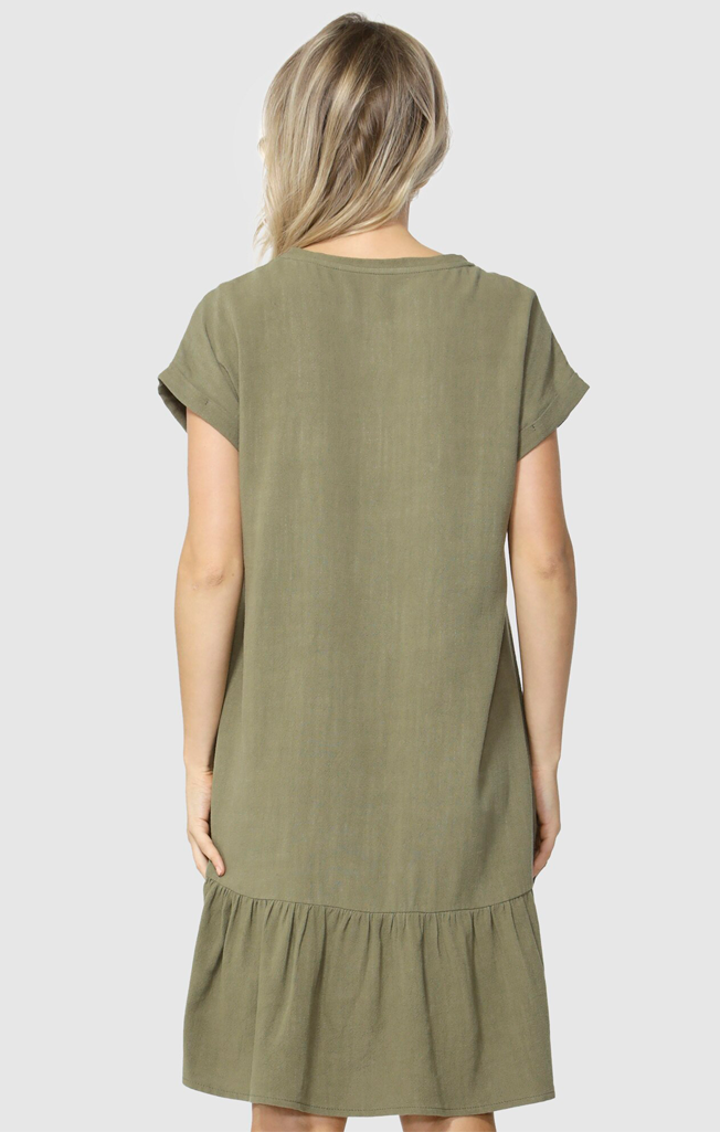 Ryland Dress Khaki