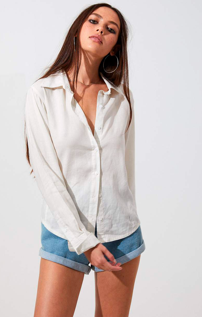 Tori Hemp Shirt White