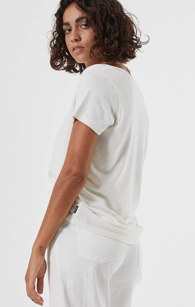 Hemp Standard Fit Tee White